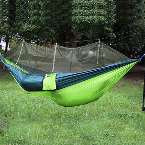 Image of Portable Mosquito Net Hammock-Gift-Hut