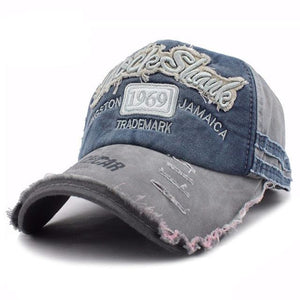 1969 Embroidered Baseball Cap - Gray-Gift-Hut