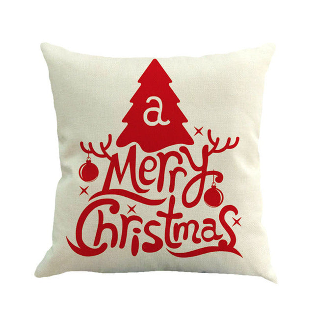 Christmas Decoration Cushion cover - 13 styles to choose from!!-Gift-Hut