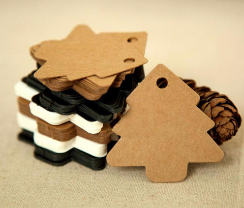 Image of Christmas Tree Tags (50 pcs)-Gift-Hut