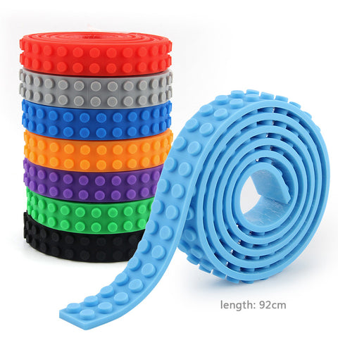 Image of 92cm Building Blocks Flexible Adhesive Strip-Gift-Hut