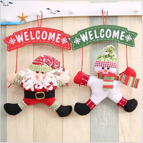 Image of Christmas Tree Door Hanging Decorations-Gift-Hut