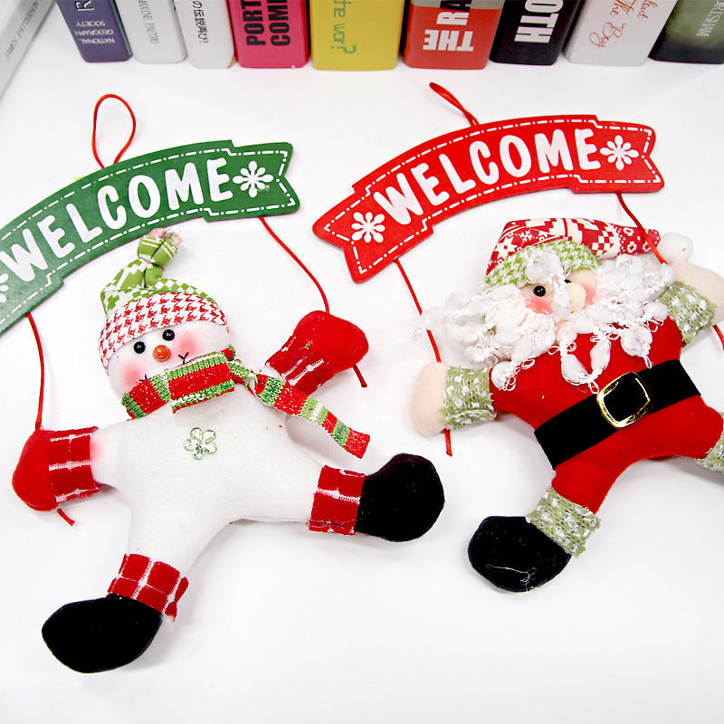Christmas Tree Door Hanging Decorations-Gift-Hut