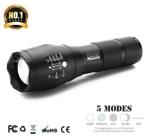 Waterproof CREE LED Tactical Flashlight