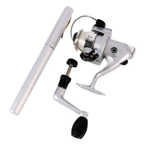 Image of NEW Deluxe Travel Pocket Fishing Rod-Gift-Hut