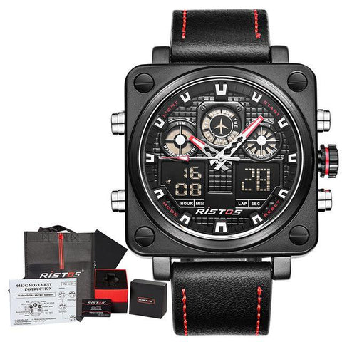 Image of RISTOS Chronograph Multifunction Sport Watch-Gift-Hut