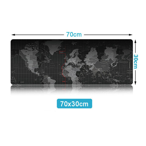Image of World Map Mouse Pad-Gift-Hut