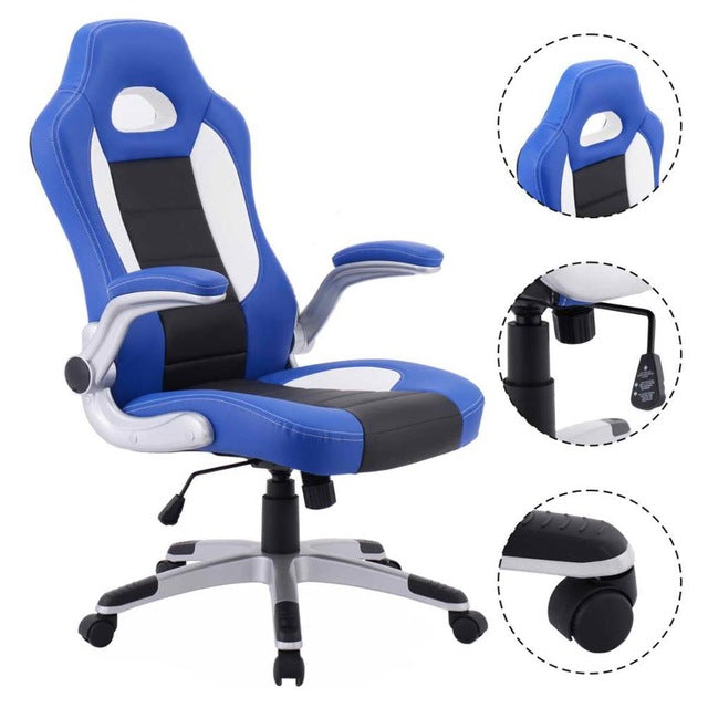 Executive Racing Style Gaming Chair-Gift-Hut