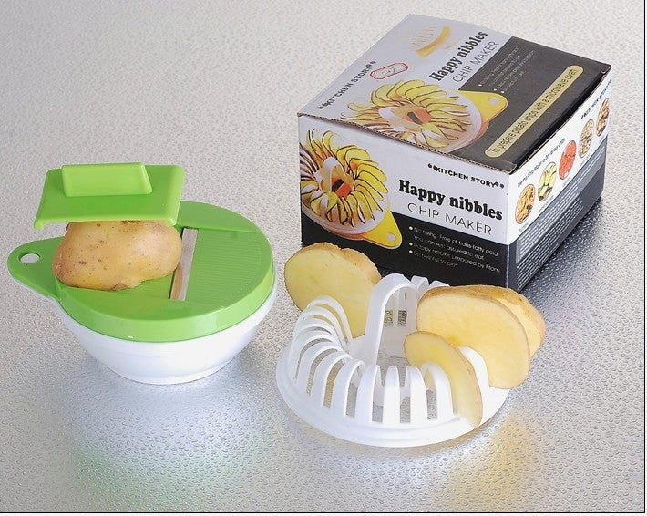 Microwave Potato Chips Maker-Gift-Hut