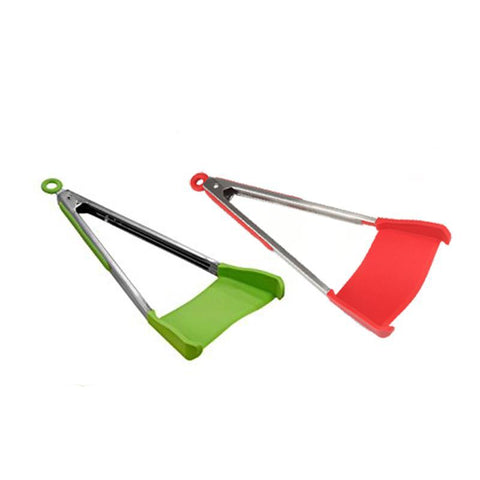 Image of 2-in-1 Kitchen Spatula Tongs-Gift-Hut