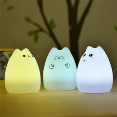Color Changing Cat Night-Light
