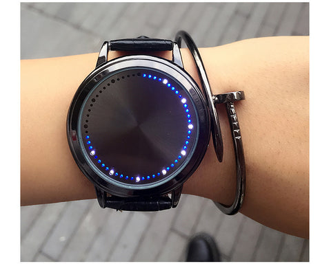 LED Ring Digital Watch