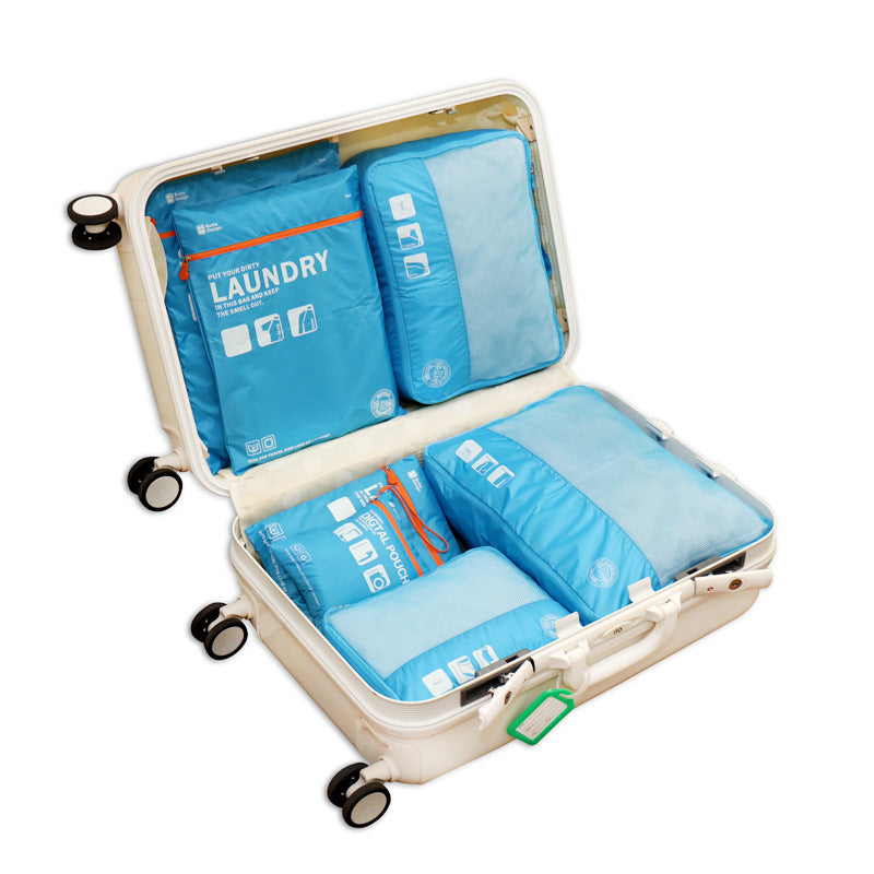 Packing Cube Luggage Travel Bags 7 piece Set-Gift-Hut