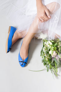 Wedding BOW peep toes