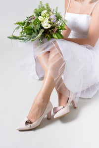 Wedding ROLL heels