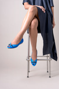 BOW peep toes
