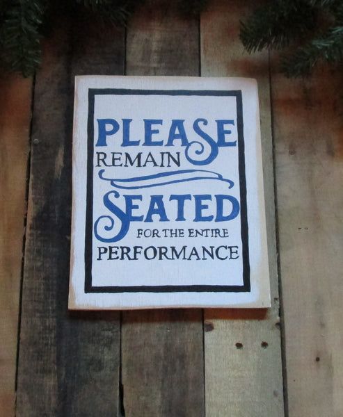 Bathroom Humorous Wood Sign:, handmade,gift for the home, home decor