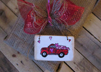 Little Red Truck Valentine's Day: brimming with hearts and love