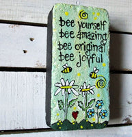 Bee Yourself Stepping Stone