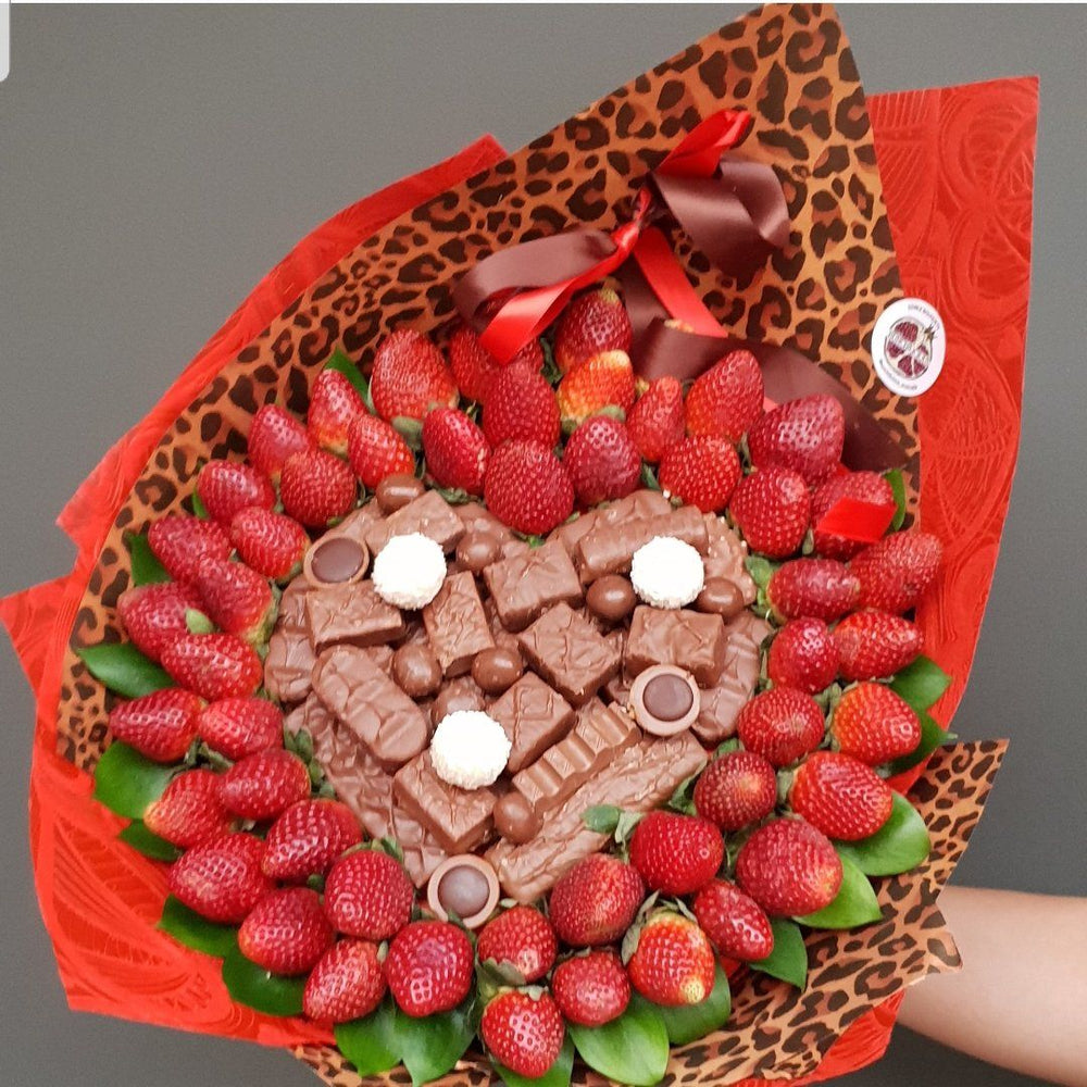 Wild Heart -  Strawberry & Chocolate Bouquet