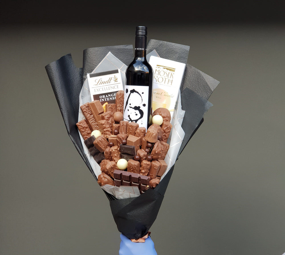 Rolling In Love Chocolate Bouquet
