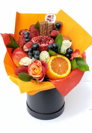 BLOOD  CHOC  ORANGE   BOUQUETS