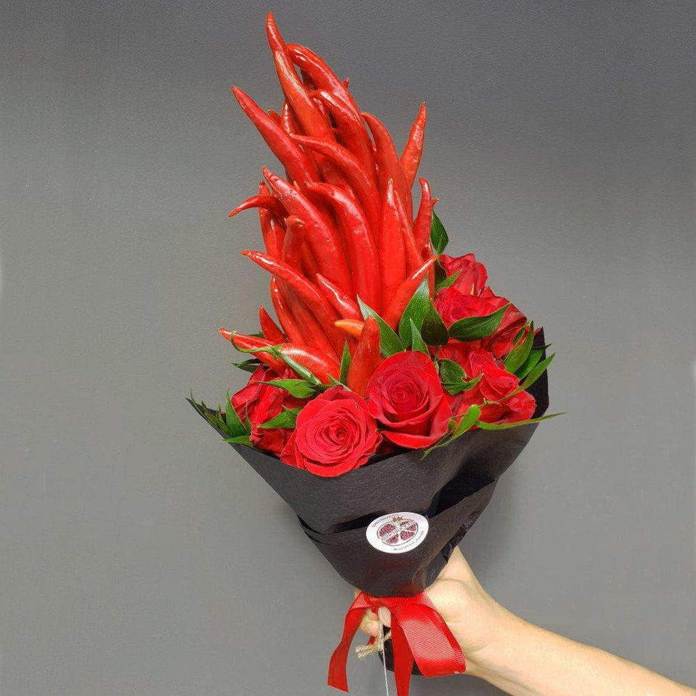 Fired chilli Edible Bouquet