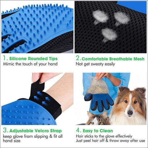 Image of Pet Grooming Gloves
