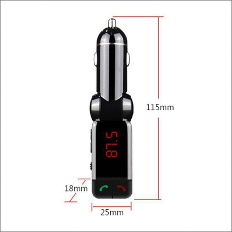 Car Bluetooth FM Transmitter