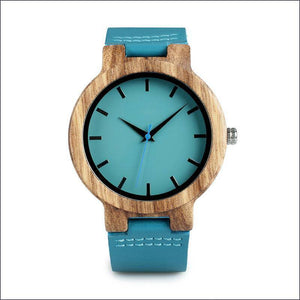 Zebrawood Wrist Watch For Men