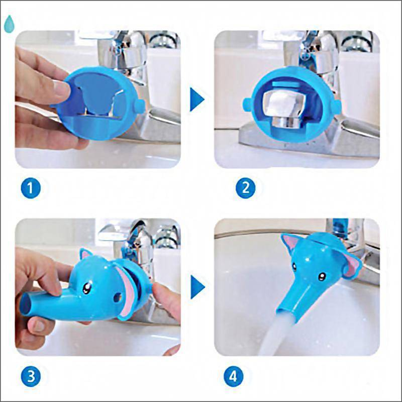 Cartoon Faucet Extender for Kids