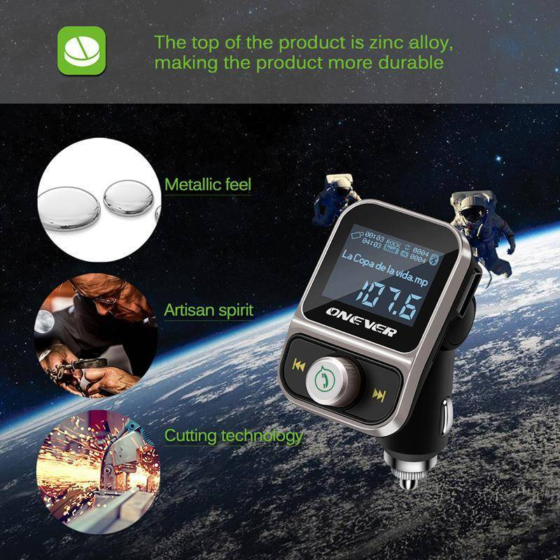 Car Bluetooth FM Transmitter FLAC