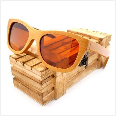Image of Bamboo Wooden Sunglasses