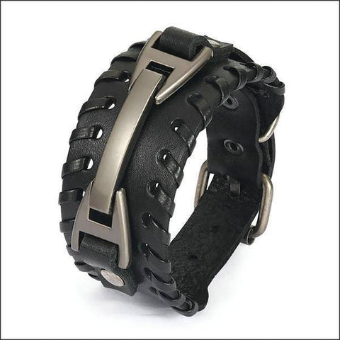 Image of leather bracelets for women