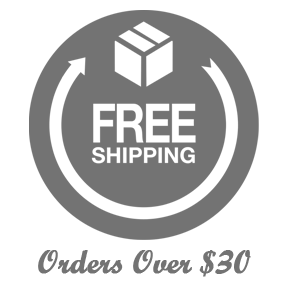 Image of Free shipping (when you spend over $30)