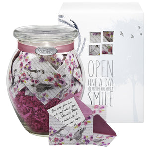 Jar of Messages for Condolences