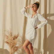Your Daily Wrap Tunic (White)