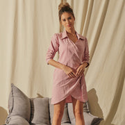 Your Daily Wrap Tunic (Sea Pink)
