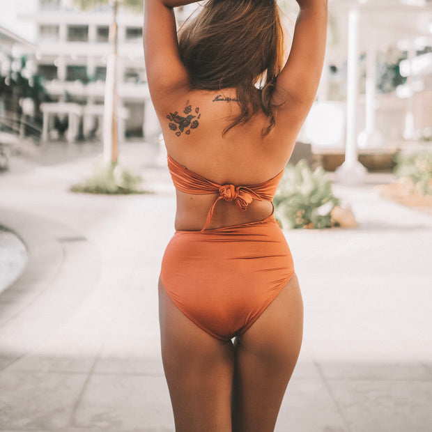 Avana Maillot (Copper)