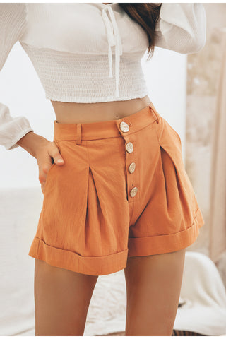 Pleats Shorts