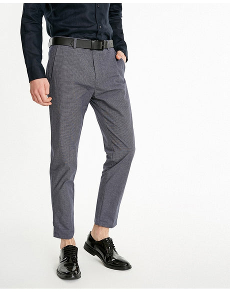 Smart Casual Plaid Trousers