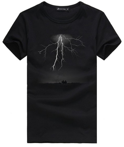 Camp Lightning Printed T-Shirts