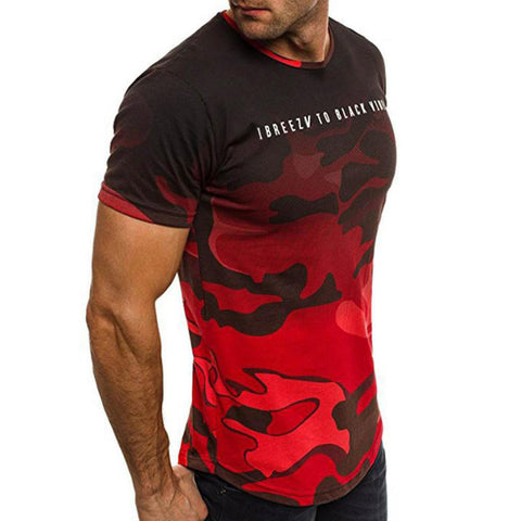 Camouflage  Short sleeve T-Shirts