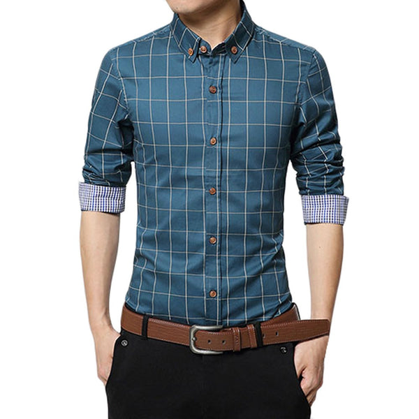 Checks Slim Fit Shirt