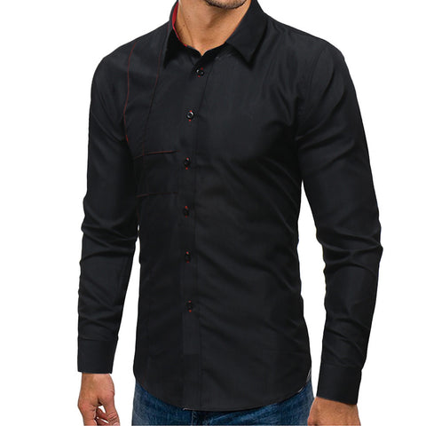 Color hint Slim Fit Shirt