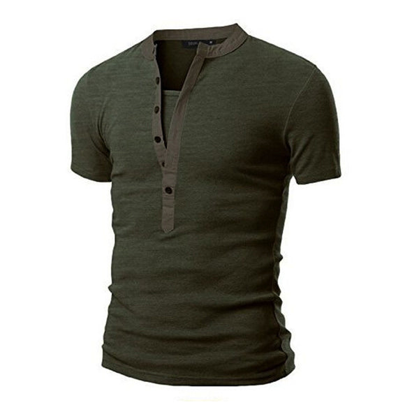 V-neck Short Sleeve T-shirt