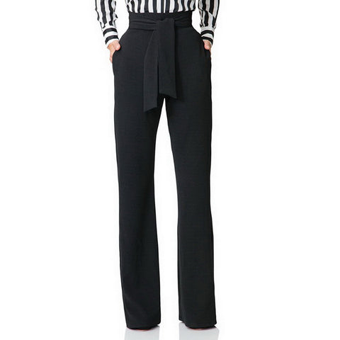 High Waist Wide Leg Flare Pants