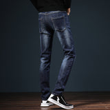 Dark Blue slim Denim pants