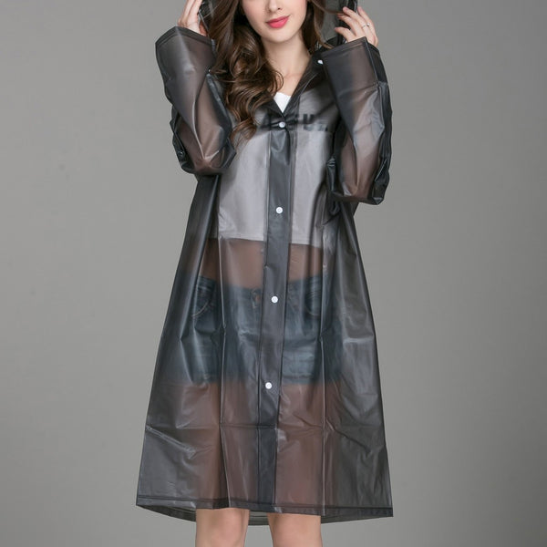 Sheer Rain Windproof Coat