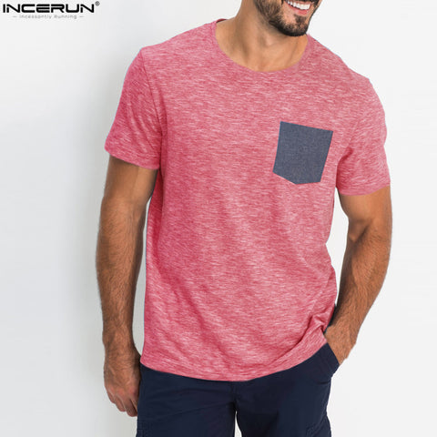 Pocket Patchwork T-shirt
